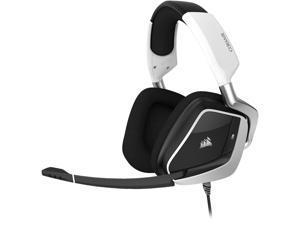 Corsair VOID RGB ELITE USB Connector Circumaural Premium Gaming Headset with 7.1 Surround Sound, White