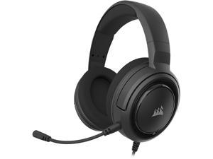CORSAIR HS45 SURROUND Stereo Gaming Headset with 7.1 Surround Sound, Carbon (CA-9011220-NA)