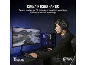 CORSAIR HS60 HAPTIC Stereo Gaming Headset with Haptic Bass