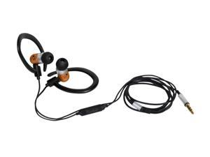 Woodees IESW200B 3.5mm Connector Inner Ear Sport Stereo Earphone with Microphone