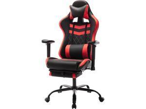 Furniture of America IDF-6006-RD Reni Reclining Gaming Chair