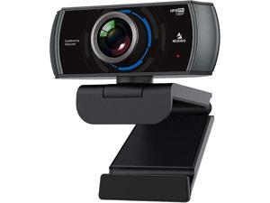 NexiGo N980P FHD USB Computer Camera, Built-in Dual Noise Reduction Mics, 120 Degrees Wide-Angle for Zoom/Skype/FaceTime/Teams, PC Mac Laptop Desktop