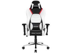 AKRacing Masters Series Premium Gaming Chair, 4D Adjustable Armrests, 180 Degrees Recline - Arctica (AK-PREMIUM-ARCTICA)