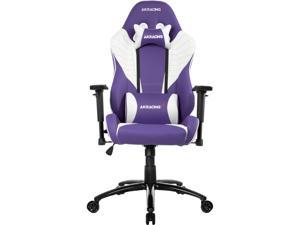AKRacing Core Series SX PU Leather Gaming Chair, 3D Adjustable Arms, 180 Degrees Recline - Lavender (AK-SX-LAVENDER)