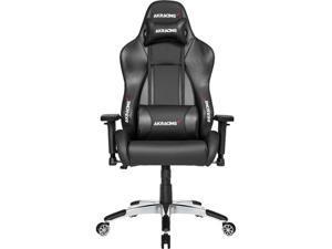 AKRacing Masters Series Premium Gaming Chair, 4D Adjustable Armrests, 180 Degrees Recline - Carbon Black (AK-PREMIUM-CB)