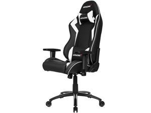 AKRacing Core Series SX PU Leather Gaming Chair, 3D Adjustable Arms, 180 Degrees Recline - White (AK-SX-WT)