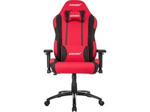 AKRacing Core Series EX Wide Fabric Gaming Chair, 3D Arms, 180 Degrees Recline - Red/Black (AK-EXWIDE-RD/BK)