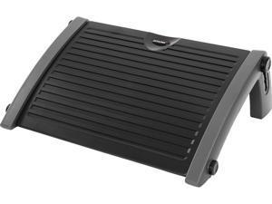 AKRacing Plastic Footrest Grey, Adjustable to Multiple Tilt Angles (AK-FOOTREST-GY-NA)