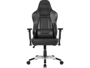 AKRacing Office Series Obsidian Office / Computer / Gaming Chair, 3D Adjustable Armrests, 180 Degrees Recline - Carbon Black (AK-OBSIDIAN)