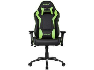 AKRacing Core Series SX PU Leather Gaming Chair, 3D Adjustable Arms, 180 Degrees Recline - Green (AK-SX-GN)