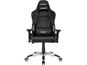 AKRacing Masters Series Premium Gaming Chair, 4D Adjustable Armrests, 180 Degrees Recline - Black (AK-PREMIUM-BK)