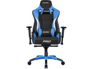 AKRacing Masters Series Pro Gaming Chair, 4D Adjustable Armrests, 180 Degrees Recline - Blue (AK-PRO-BL)