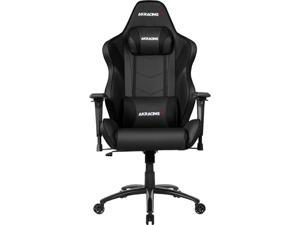 AKRacing Core Series LX Plus Pleather Gaming Chair, 3D Arms, 180 Degrees Recline - Black (AK-LXPLUS-BK)