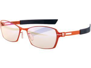 Arozzi Visione VX-500 Computer Gaming Glasses - Anti-glare, UV and Blue light Protection, Eye Strain Relief, Comfortable Gaming, Orange