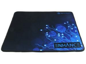 ENHANCE GX-MP1 Extended Gaming Mouse Pad Blue with Precision Tracking Surface, Non-Slip Base and Anti-Fray Stitching