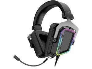 Patriot Memory Viper V380 USB Connector Circumaural Virtual 7.1 Surround Sound PC Gaming Headset w/ ENC Microphone and Full Spectrum RGB