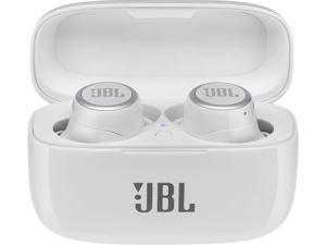 JBL LIVE 300TWS True Wireless In-ear Headphones with Voice Assistant - White Gloss - JBLLIVE300TWSWHTAM