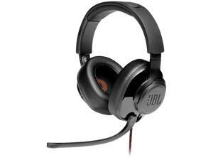 JBL QUANTUM 200 Circumaural Gaming Headset, Black
