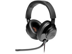 JBL QUANTUM 300 Circumaural Gaming Headset, Black