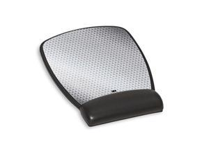 """3M 3M Precise Mouse Pad with Gel Wrist Rest, Soothing Gel Comfort with Durable, Easy to Clean Leatherette Cover, Optical Mouse Performance and Battery Saving Design, 8.6"""" x 6.8"""", Black (MW309LE) MW309"""