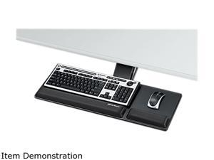 Fellowes 8017801 Designer Suites Compact Keyboard Tray, 19 x 9-1/2, Black