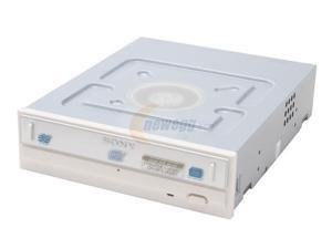 SONY 16X DVD±R DVD Burner With Black Front Panel White E-IDE/ATAPI Model DRU810A