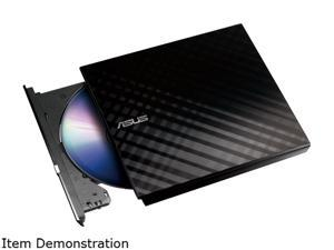 ASUS External CD/DVD Drive Model SDRW-08D2S-U/BLK/G/AS/CA