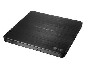 LG Ultra Slim External DVDRW with Mac and Surface Compatible Model GP60NB50