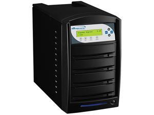 VINPOWER Black 1 to 3 Up to 256MB Buffer Memory SharkCopier DVD CD Disc Duplicator Tower with 320GB Hard Drive Model Shark-S3T-SNY-BK