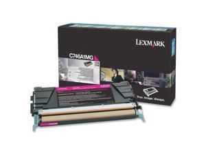 Lexmark C746A1MG Return Program Toner Cartridge - Magenta