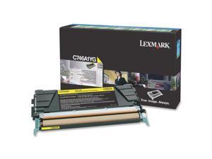 Lexmark C746A1YG Return Program Toner Cartridge - Yellow