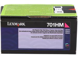Lexmark 70C1HM0 High Yield Return Program Toner Cartridge - Magenta