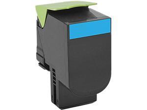 Lexmark 70C10C0 Return Program Toner Cartridge - Cyan