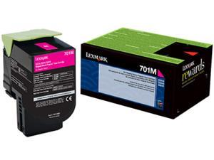 Lexmark 70C10M0 Return Program Toner Cartridge - Magenta