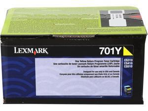 Lexmark 70C10Y0 Return Program Toner Cartridge - Yellow