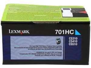 Lexmark 70C1HC0 High Yield Return Program Toner Cartridge - Cyan