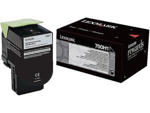 Lexmark 70C0H10 High Yield Toner Cartridge - Black