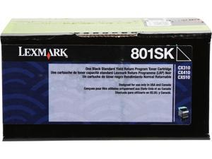 Lexmark 80C1SK0 Return Program Toner Cartridge - Black