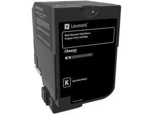 Lexmark 74C1HK0 High Yield Return Program Toner Cartridge - Black
