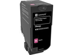 Lexmark 74C10M0 Return Program Toner Cartridge - Magenta