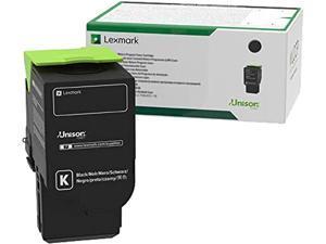 Lexmark C231HK0 High Yield Return Program Toner Cartridge - Black