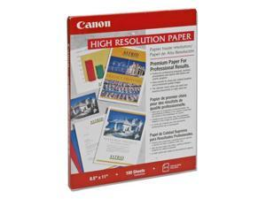 """Canon 1033A011 8.5"""" x 11"""" 100 Sheets High Resolution Paper (HR-101)"""