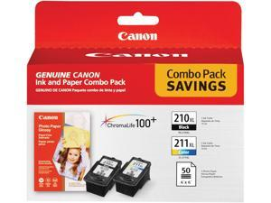Canon PG-210 XL/CL-211 XL High Yield Ink Cartridge - Combo Pack - Black/Color