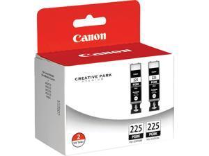 Canon PFI-225 Ink Cartridge - Dual Pack - Pigmented Black