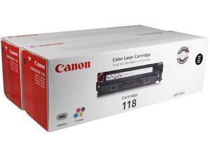 Canon Cartridge 118 2662B004 toners for Canon imageCLASS MF8350Cdn - Twin Pack Black