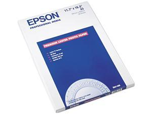 "Epson S041406 Photo Paper A3 - 11.70"" x 16.50"" - Luster - 97 Brightness - 50 Sheet"