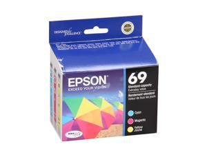 EPSON 69 (T069520) Color DURABrite Ink Cartridge For Epson Stylus CX5000, CX6000 Cyan, Magenta and Yellow