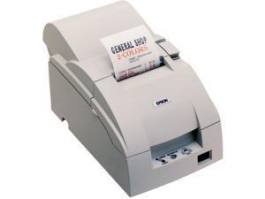 Epson TM-U220D Impact Dot Matrix Color Receipt Printer – Cool White - C31C515603