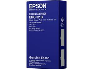EPSON ERC-32B Ribbon Cartridge, Black