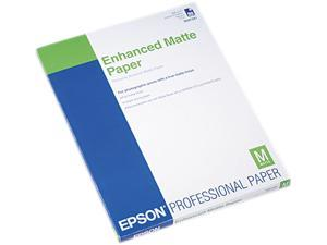 "Epson S041341 Photo Paper Letter - 8.50"" x 11"" - 50 / Pack - White"